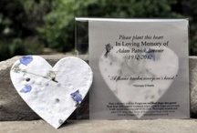 Memorial Gifts / Celebrate the life of your loved one by planting seeds as a lasting tribute to their memory.