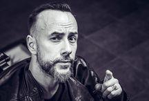 Session 4 / Adam Darski ''Nergal'' fot. Monika Szałek Barberian Academy & Barber Shop