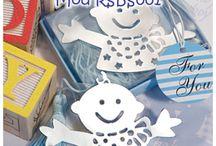 Recuerdos - Separadores Para Baby Shower / Prácticos recuerdos para todos los lectores invitados al Baby Shower - Disponibles en www.pkts-babyshower.com