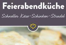 Strudel Käse Schinken