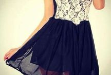 Skirts and dresses :3