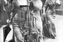 Abiti e modelli 1900