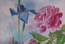 Véronique Moret Huiles / Quelques exemples de mes oeuvres