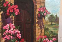 Yağlı boya resim tablolarım ( oil painting)
