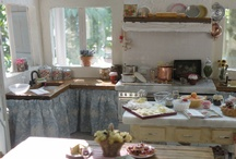 Dollhouse kitchens / Tutorials and inspiration