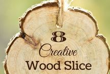 diy Wood slices