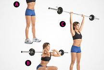 Barbell Workout - Legs / Want an efficient workout in the gym? - pick one piece of equipment & get to work then!