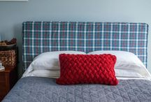 Headboard slip cover