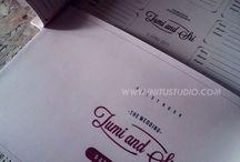 Wedding Geust Book / Koleksi Buku Tamu dengan desain custom