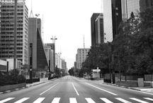 São Paulo, Brasil. / A minha cidade. Passado e presente. Belezas e contradições. Preto e branco.
