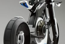 Futuristic Motorcycle's