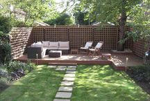 Garden decking ideas