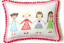 Fancy Pillow Fight  - Decorative Pillows for Kids / by Saige Nicoles