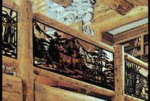 [ОГРАЖДЕНИЕ БАЛКОНОВ И ТЕРРАС] от Artsofnature / Кто сказал, что ограждение балкона не может быть произведением искусства?