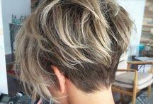 balayage short hair