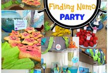 Nemo inspiration party / Ideas for a 5 year old's party. -Underwater theme