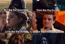 Divergent&Hunger Games
