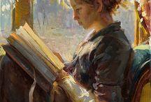Lecture dans l'art / by Johanne Mireault