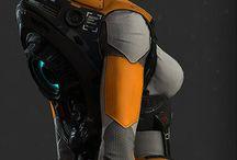 armaduras espaciales
