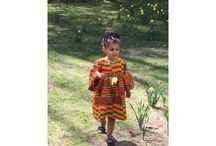 Afro kids styles / Baby girl african Ankara style inspiration