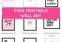 gallery walls printables
