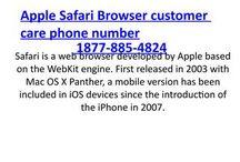 Apple Safari Browser Tech Support