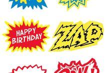 Kids parties - Superhero party / by Jolene Stocks