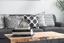 ThatLaidBackChic | Living Area / There's beauty in Monochrome