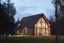 Modern barn houses