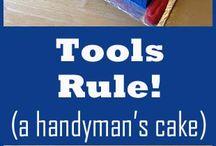 Handyman cakes