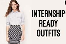 Interning. / Mastering Business Casual to get a career break!  / by SPC Card