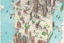 Maps / Mapas en mil cosas