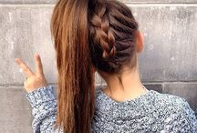 Cute hairstyles / The cutest hairstyles. In my opinion.. Hope they help!?