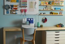 Craft Room / by Jennifer Spencer