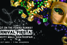 Baggit's on the Femina runway! Carnival Fiesta