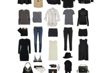 Capsule wardrobe ideas / What should be in a capsule wardrobe