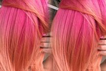 Pink-Coral Hair