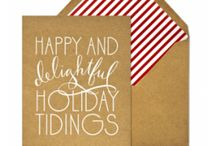Holiday Cards / by Briar Biddle