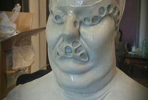"Das Jenke Experiment (Fat make up) Transformation /   Jenke von Wilmsdorff: Zum Thema ""Essstörung""   Prosthetic ,Silikonmaske,Dick,Sculpting,Mold,Makeup."