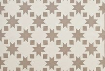 naturals and white quilts