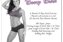 Workouts / Fitness / by Anna Merodio Baysinger