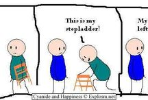 Random Cartoons and sayings...