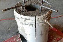 panela cimento com carvão
