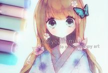 Yoaihime art <3 (+ibu_chuan) / I love her art!It's really amazing and I thought it deserved a board :)