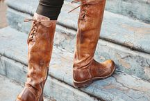 Fabulous fashions!  / Beautiful clothes, boots and accessories