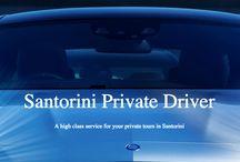 Santorini Driver / SANTORINI DRIVER - Private driver and chauffeur services in Santorini, Greece.