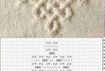 Celtic knitting motivs