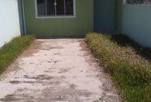 Casa nova em potecas / CA 0525- Casa no bairro recanto da natureza em potecas, próximo a geral de forquilhas a 15 minutos da BR. 2 dormitórios , sala , cozinha, , área de serviço , banheiro e 1 vaga de garagem .
