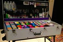 Facepaint Color/Split cakes/Sushi cakes and paint Kit
