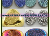 Natural Drusy Stones / Natural Drusy Stones Manufacturers & Natural Druzy Gem Stones Suppliers Directory - Find a Natural Drusy Stones Manufacturer and Supplier. Coating Pink Natural druzy drusy stone in china, Thailand, Brazil, India. Sources: http://nathaan-gem-jewelry.com